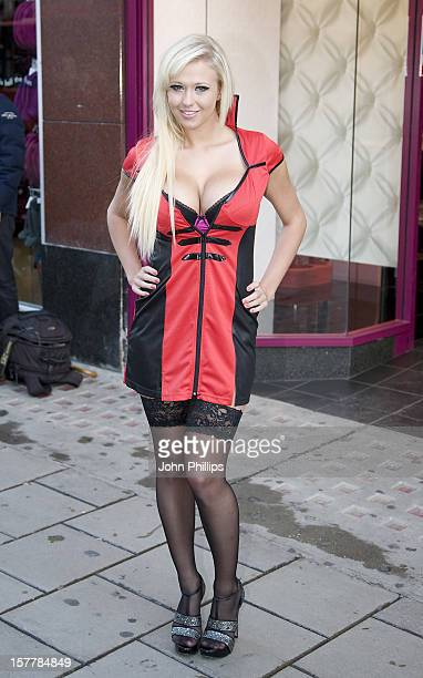 Sophie Reade Announces The Unveiling Of Ann Summers Flag Ship Store On Oxford Street London