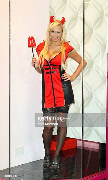 Sophie Reade attends photocall to launch the new flaghip Ann Sumers store on October 8 2009 in London England