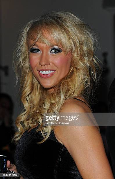 Sophie Reade attends the launch of the Playboy Energy Drink at Funky Buddha on November 18, 2010 in London, England.
