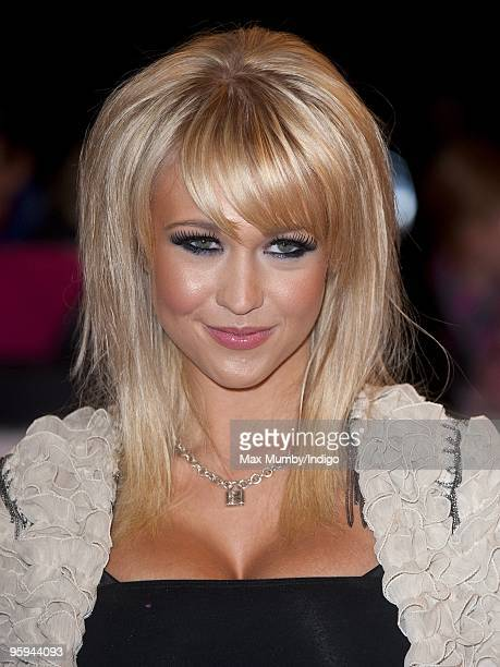 Sophie Reade attends the National Television Awards at O2 Arena on January 20 2010 in London England