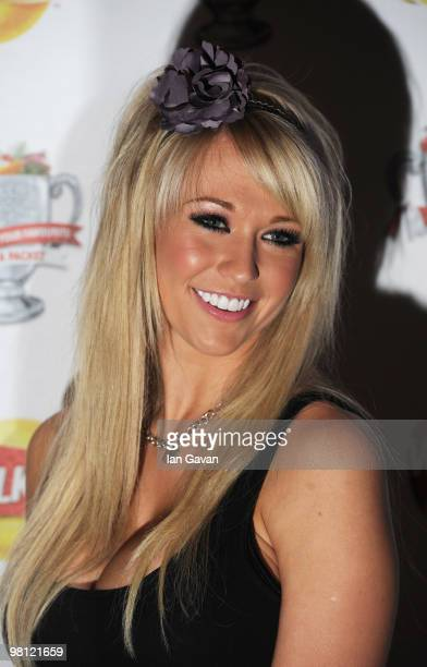 Sophie Reade attends the Walkers Launch Party to launch 15 new flavours of crisps at Orchid on March 29 2010 in London England
