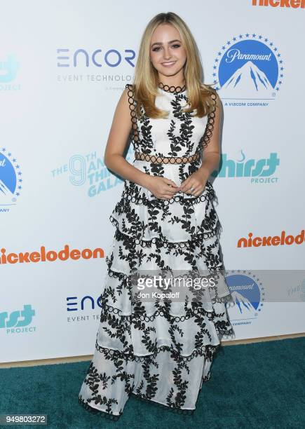 Sophie Reynolds attends the 9th Annual Thirst Gala at The Beverly Hilton Hotel on April 21 2018 in Beverly Hills California
