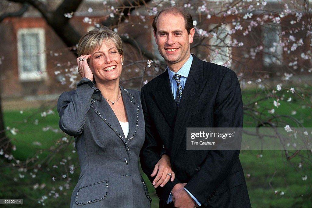 Prince Edward Sophie Engagement : News Photo