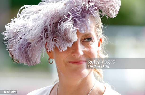 Sophie Rhys-Jones - Countess of Wessex attends day 2 of Royal Ascot at Ascot Racecourse on June 16, 2021 in Ascot, England.