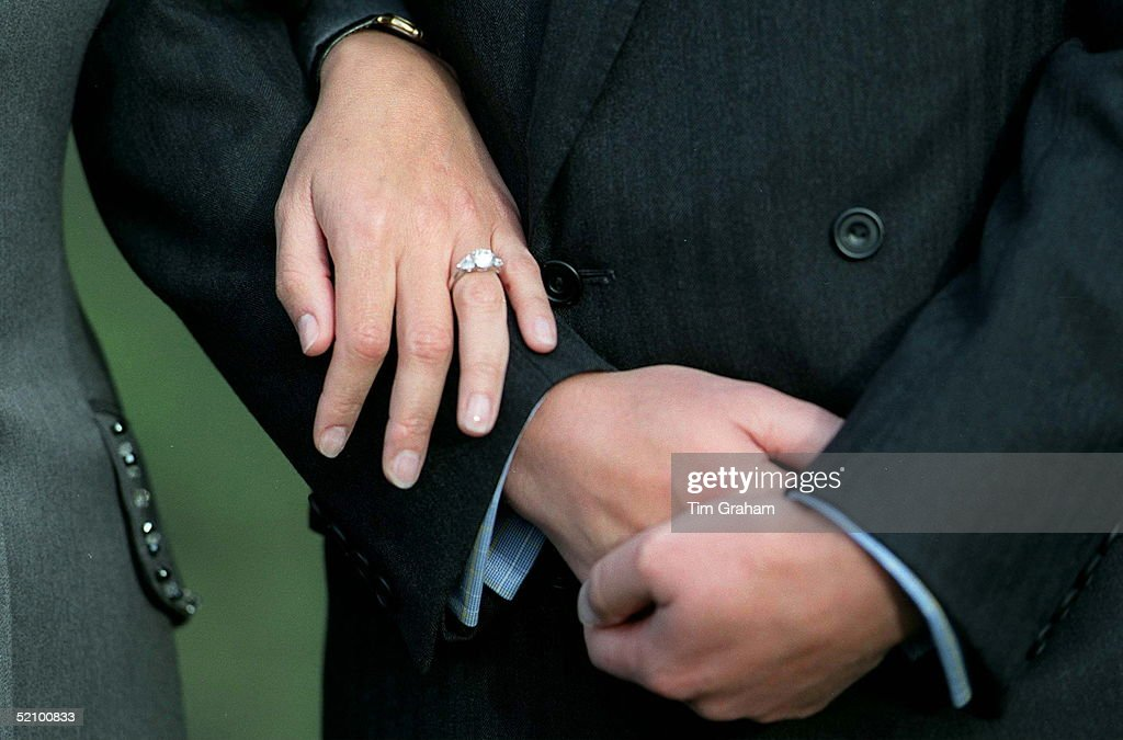 Sophie Engagement Ring : News Photo