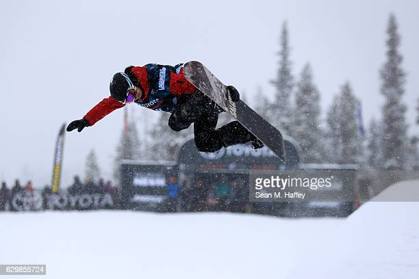 Sophie Rodriguez of France competes in the qualifying round for the 2017 US Snowboarding Grand Prix at Copper Mountain on December 14 2016 in Copper...