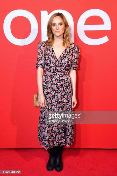 Sophie Rundle attends BBC One Drama Gentleman Jack Yorkshire Premiere at The Piece Hall on May 09 2019 in Halifax England