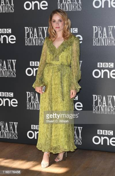 Sophie Rundle attends the Peaky Blinders BFI TV Preview at BFI Southbank on July 23 2019 in London England