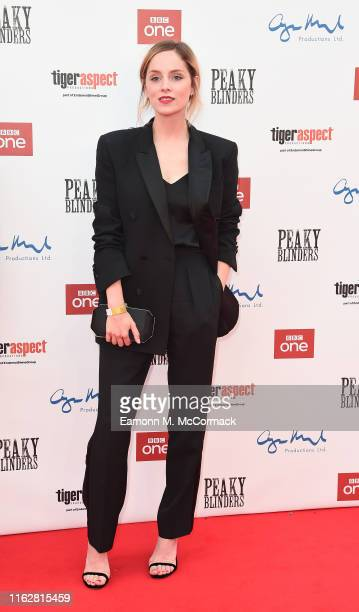 Sophie Rundle attends the premiere of the 5th season of Peaky Blinders at Birmingham Town Hall on July 18 2019 in Birmingham England