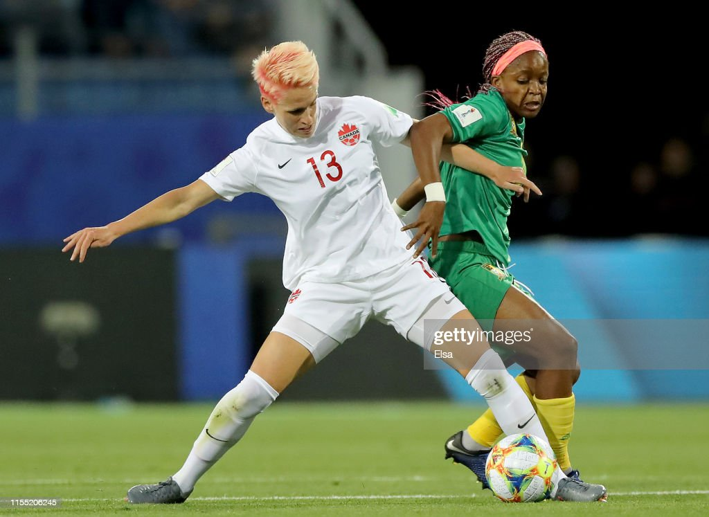 Canada v Cameroon: Group E - 2019 FIFA Women's World Cup France : News Photo