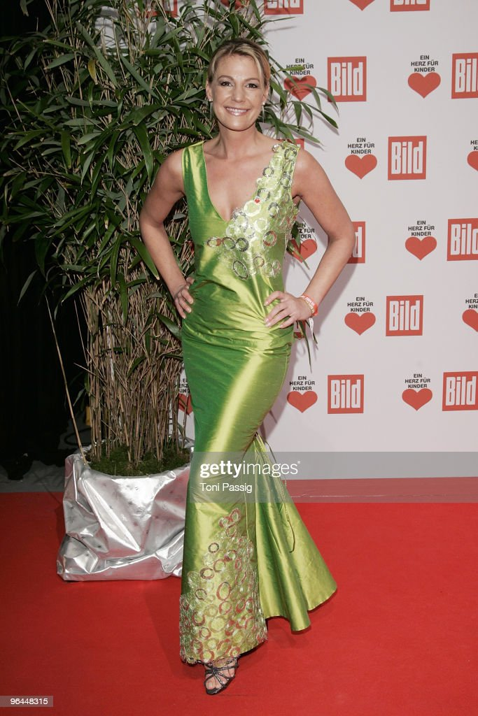 Sophie Schuett, actress attend the 'Ein Herz fuer Kinder' Gala (A Heart for Children Gala) at Studio 20 at Adlershof on December 12, 2009 in Berlin, Germany.