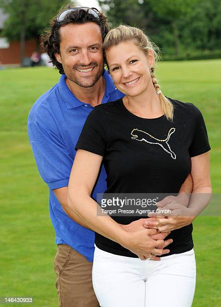 Sophie Schuett and Felix Seitz attend the 'BMW Golf Cup 2012' on June 16 2012 in Michendorf Germany