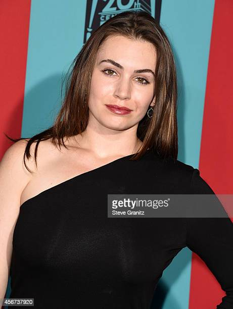 Sophie Simmons arrives at the American Horror Story Freak Show Los Angeles Premiere at TCL Chinese Theatre IMAX on October 5 2014 in Hollywood...
