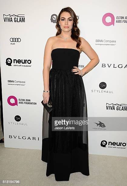 Sophie Simmons attends the 24th annual Elton John AIDS Foundation's Oscar viewing party on February 28, 2016 in West Hollywood, California.