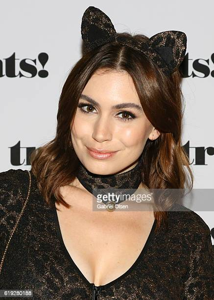 Sophie Simmons attends Trick or treats The 6th Annual treats Magazine Halloween Party Sponsored by Absolut Elyx on October 29 2016 in Los Angeles...