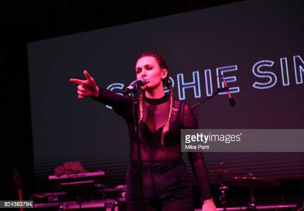 Sophie Simmons performs on stage during 'The Children Matter', an exclusive charity event benefiting MATTER & The Starkey Hearing Foundation...