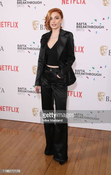Sophie Simnett attends the BAFTA Breakthrough Brits event 2019 at Banqueting House on November 07 2019 in London England