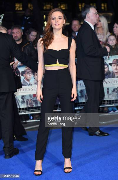 Sophie Skelton attends the World Premiere of 'Another Mother's Son' at the Odeon Leicester Square on March 16 2017 in London England