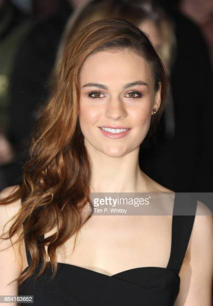 Sophie Skelton attends the World Premiere of 'Another Mother's Son' on March 16 2017 at Odeon Leicester Sqaure in London England