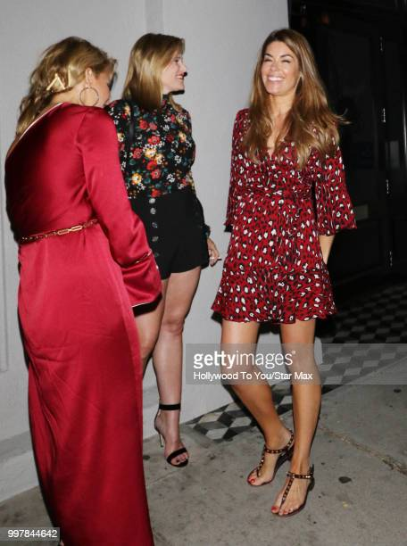 Sophie Stanbury and Tracy Tutor Maltas are seen on July 12 2018 in Los Angeles California
