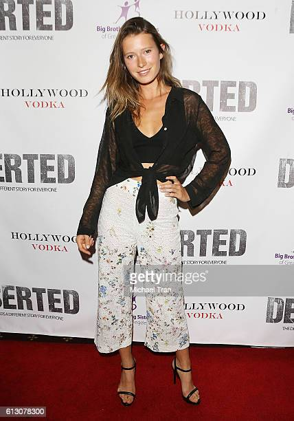 Sophie Strobele arrives at the Los Angeles premiere of 'Deserted' held at Majestic Crest Theatre on October 6 2016 in Los Angeles California