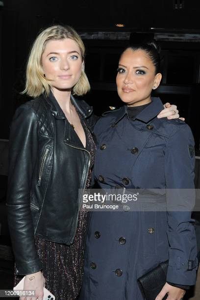 Sophie Sumner and Keytt Lundqvist attend Sony Pictures Classics And The Cinema Society Host A Special Screening Of The Climb at iPic Theater on March...