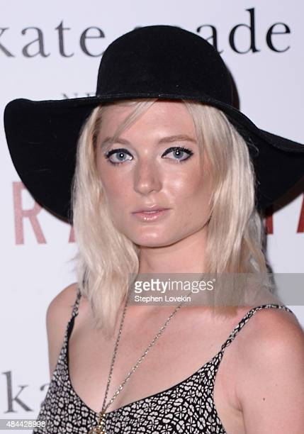 Sophie Sumner attends a screening of Sony Pictures Classics' 'Grandma' hosted by The Cinema Society and Kate Spade at Landmark Sunshine Cinema on...