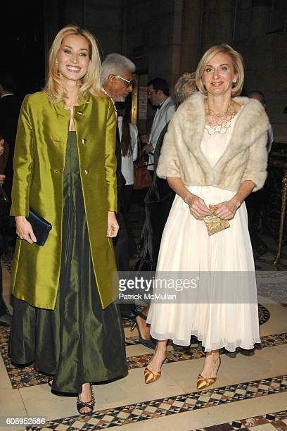 Sophie Sutton and Eileen GuggenheimWilkinson attend MUSEUM OF THE MOVING IMAGE SALUTES TOM CRUISE at Cipriani 42nd Street on November 6 2007 in New...