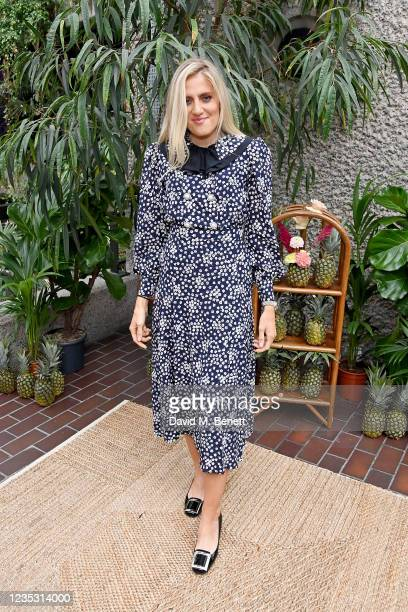 Sophie Tea attends the RIXO presentation during London Fashion Week September 2021 at The Conservatory, Barbican Centre, on September 17, 2021 in...