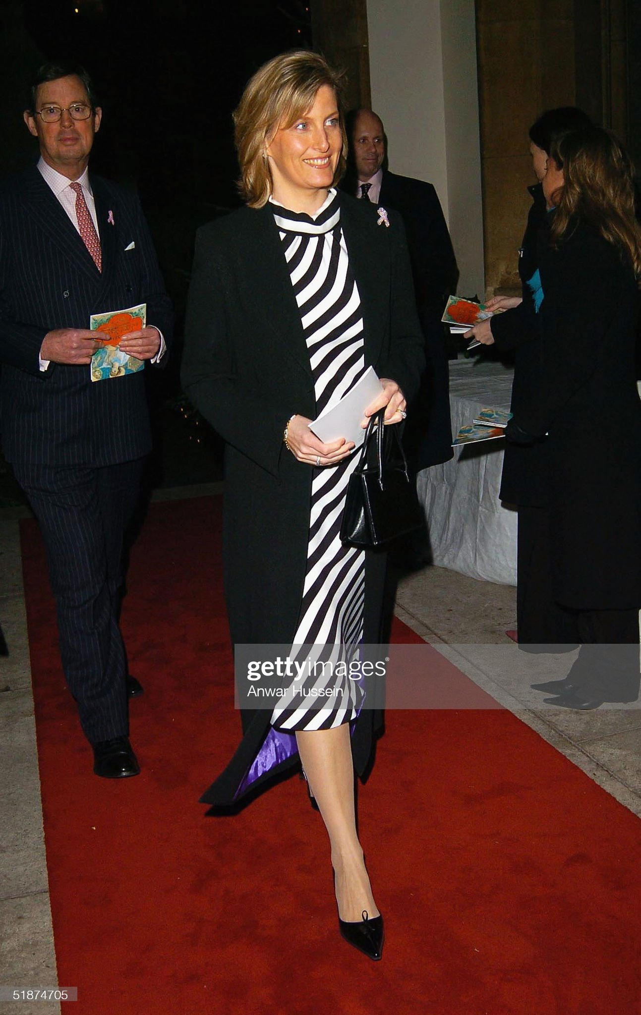 The Countess Of Wessex Attends The Haven Breast Cancer Carol Service : News Photo
