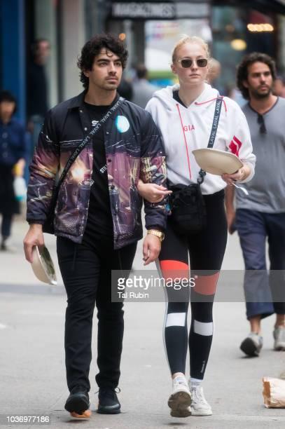 Sophie Turner and Joe Jonas are seen on September 20 2018 in New York City