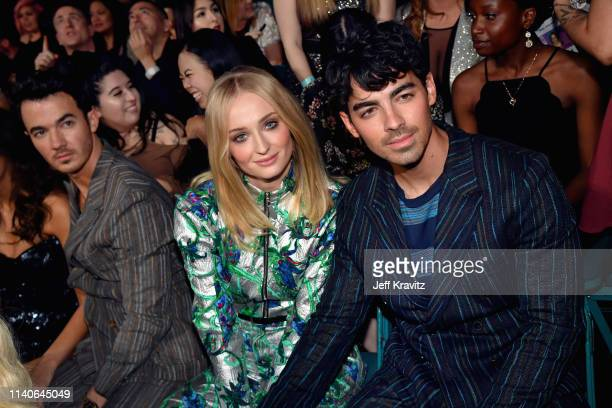 Sophie Turner and Joe Jonas attend the 2019 Billboard Music Awards at MGM Grand Garden Arena on May 1 2019 in Las Vegas Nevada