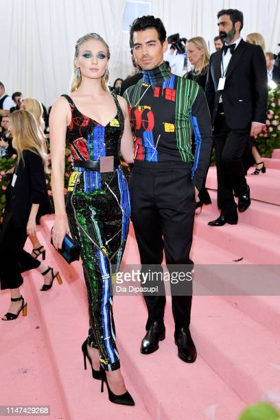 Sophie Turner and Joe Jonas attend The 2019 Met Gala Celebrating Camp Notes on Fashion at Metropolitan Museum of Art on May 06 2019 in New York City