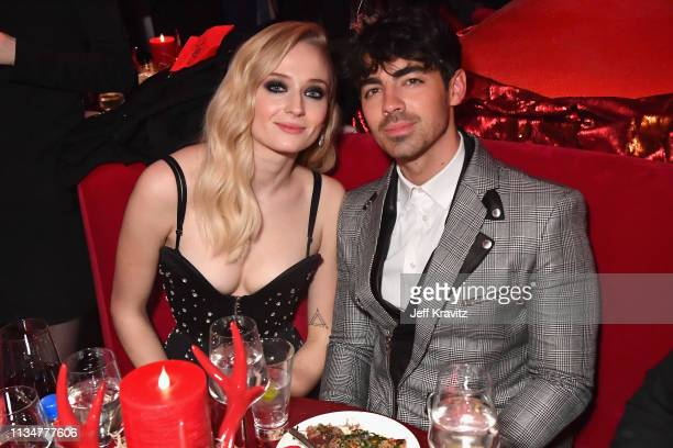 Sophie Turner and Joe Jonas attend the Game Of Thrones Season 8 NY Premiere After Party on April 3 2019 in New York City