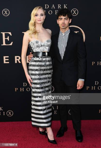 Sophie Turner and Joe Jonas attend the Premiere Of 20th Century Fox's Dark Phoenix at TCL Chinese Theatre on June 04 2019 in Hollywood California