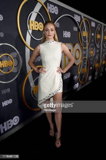 Sophie Turner attends HBO's Official 2019 Emmy After Party on September 22, 2019 in Los Angeles, California.