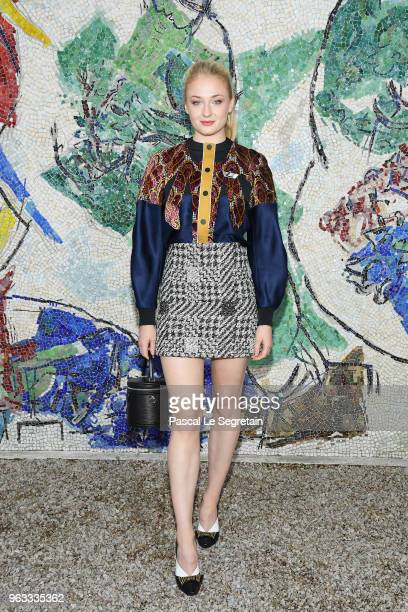 Sophie Turner attends Louis Vuitton 2019 Cruise Collection at Fondation Maeght on May 28 2018 in SaintPaulDeVence France