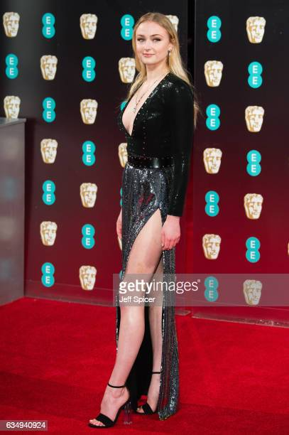 Sophie Turner attends the 70th EE British Academy Film Awards at Royal Albert Hall on February 12, 2017 in London, England.