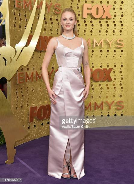 Sophie Turner attends the 71st Emmy Awards at Microsoft Theater on September 22 2019 in Los Angeles California
