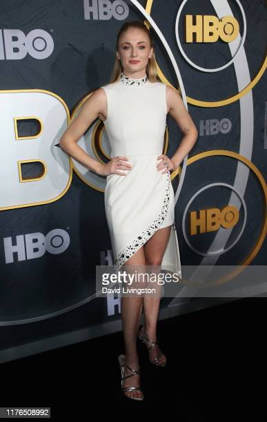 Sophie Turner attends the HBO's Post Emmy Awards Reception at The Plaza at the Pacific Design Center on September 22, 2019 in Los Angeles, California.
