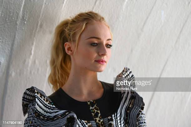 Sophie Turner attends the Louis Vuitton Cruise 2020 Fashion Show at JFK Airport on May 08 2019 in New York City