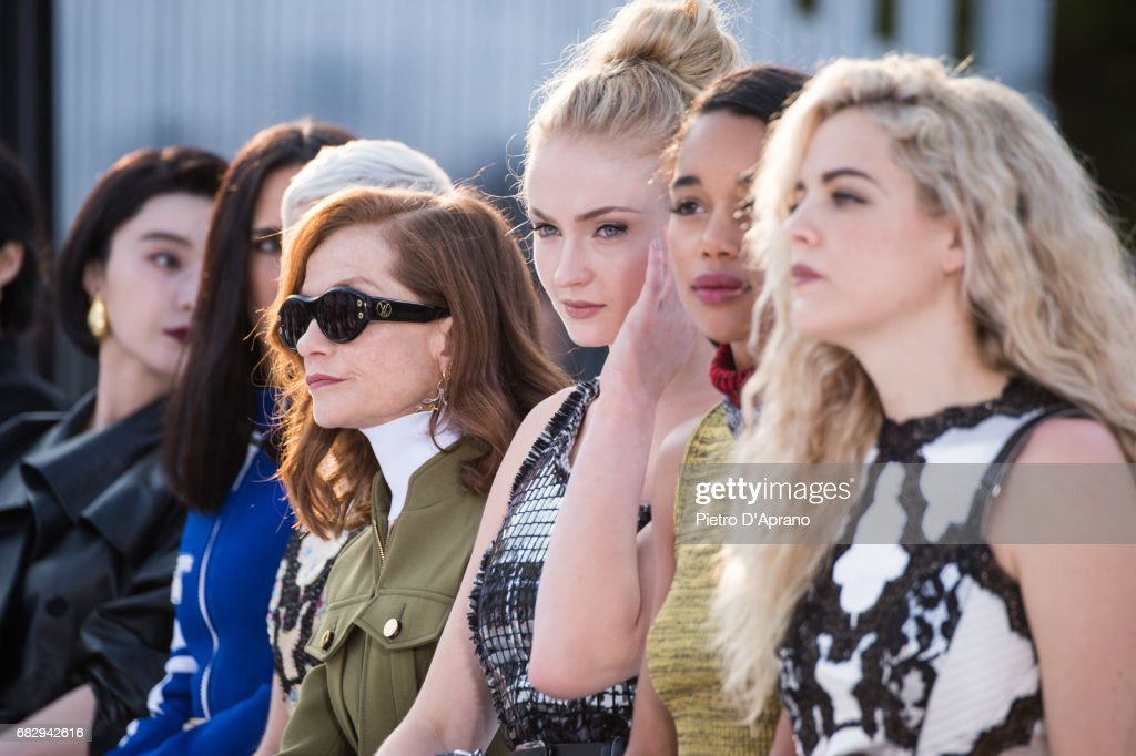 Sophie Turner attends the Louis Vuitton Resort 2018 show at the Miho Museum on May 14, 2017 in Koka, Japan.