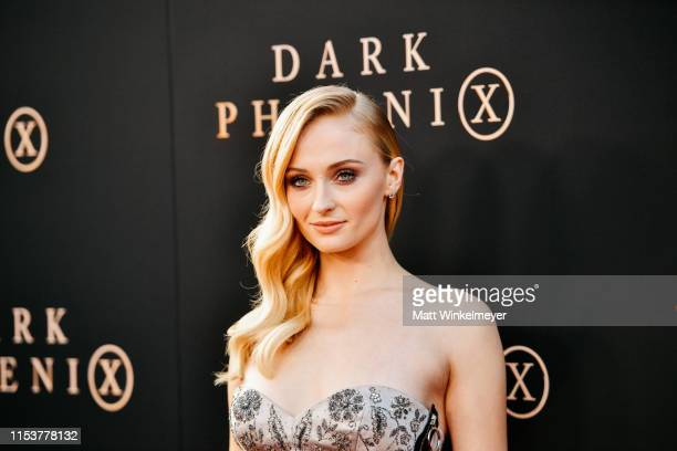 Sophie Turner attends the premiere of 20th Century Fox's Dark Phoenix at TCL Chinese Theatre on June 04 2019 in Hollywood California