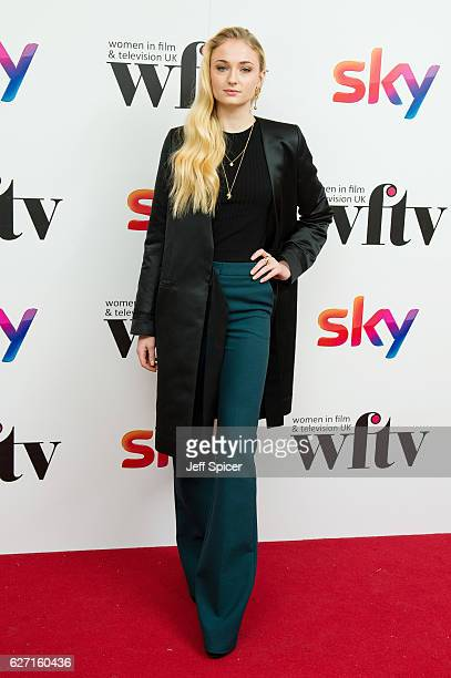 Sophie Turner attends the Sky Women In Film TV Awards at London Hilton on December 2 2016 in London England