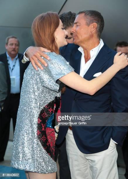 Sophie Turner is seen on July 12 2017 in Los Angeles California