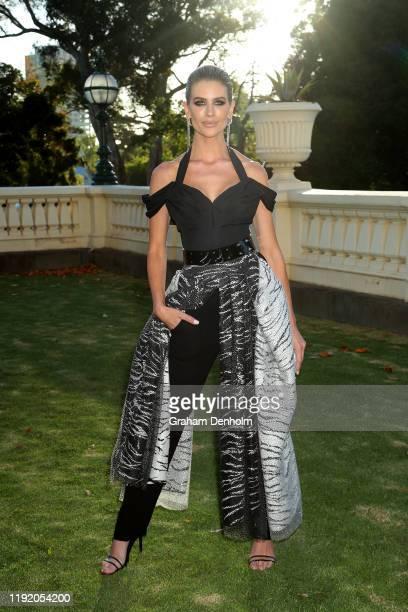 Sophie Van Den Akker attends the Melbourne Fashion Festival 2020 Launch on December 05 2019 in Melbourne Australia