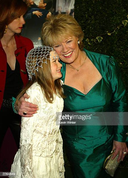Sophie Vavasseur and Evelyn Doyle at the premiere of Evelyn at the Academy of Motion Pictures Arts and Sciences in Beverly Hills Ca Tuesday Dec 3...