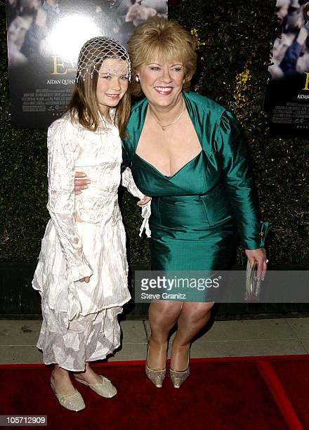 Sophie Vavasseur the actual Evelyn Doyle during Evelyn Premiere at The Academy in Los Angeles California United States