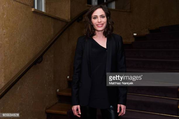 Sophie Verbeeck attends the reception of 'A Paris Education' during the 68th Berlinale International Film Festival Berlin at on February 18 2018 in...