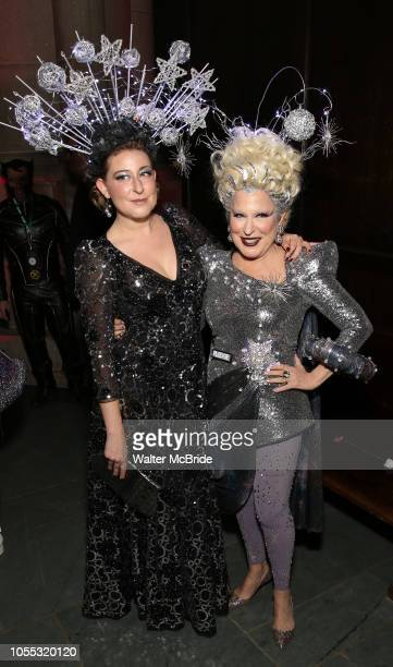 Sophie Von Haselberg and Bette Midler attend Bette Midler's New York Restoration Project hosts the 22nd Annual Hulaween Event Hulaween in the Cosmos...